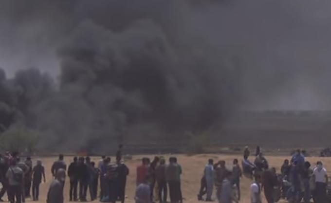 Βομβαρδισμοί ισραηλινών αεροσκαφών σε θέσεις της Χαμάς στη Λωρίδα της Γάζας