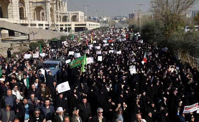 Ιράν: Δύο νεκροί σε αντικυβερνητικές διαδηλώσεις