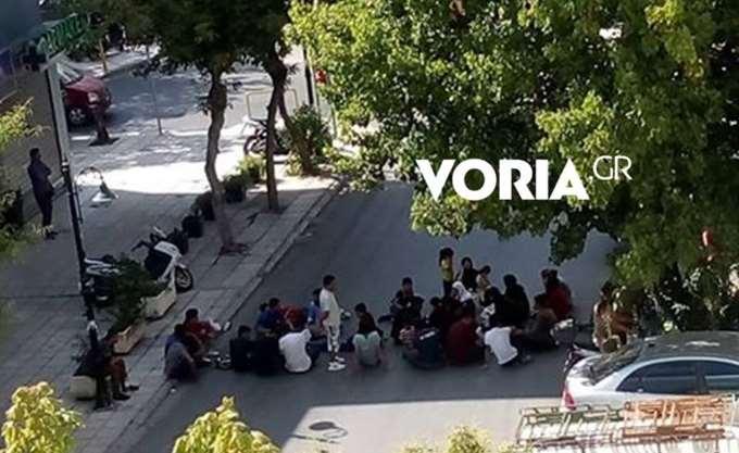 Θεσσαλονίκη: Συγκέντρωση διαμαρτυρίας αλλοδαπών για την επίσπευση των διαδικασιών χορήγησης ασύλου