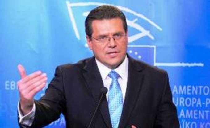 Σλοβακία: Ο Σέφτσοβιτς θα διεκδικήσει την προεδρία της Κομισιόν