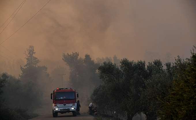 Πολύ υψηλός ο κίνδυνος πυρκαγιάς αύριο
