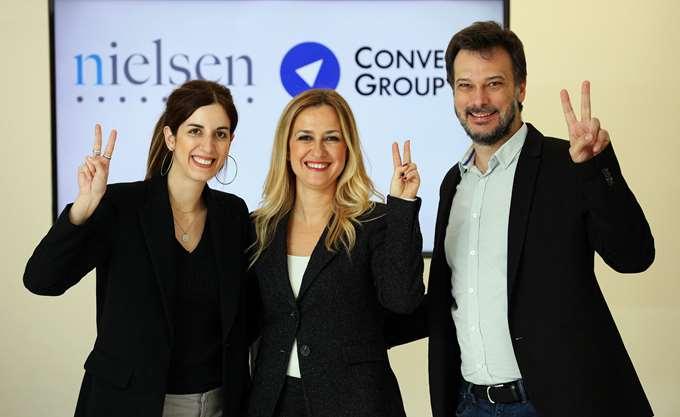 Στρατηγική συνεργασία Nielsen και Convert Group στην Ελλάδα