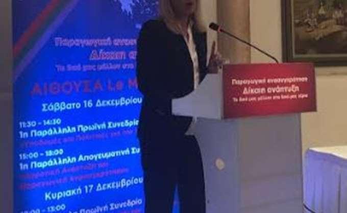 Ρ. Δούρου: Εθνική πρόκληση η ανάταξη της Δυτ. Αττικής