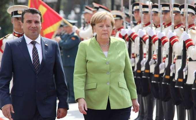 Τι συζήτησαν Μέρκελ - Ζάεφ για την επίσκεψη Τσίπρα στη Β. Μακεδονία