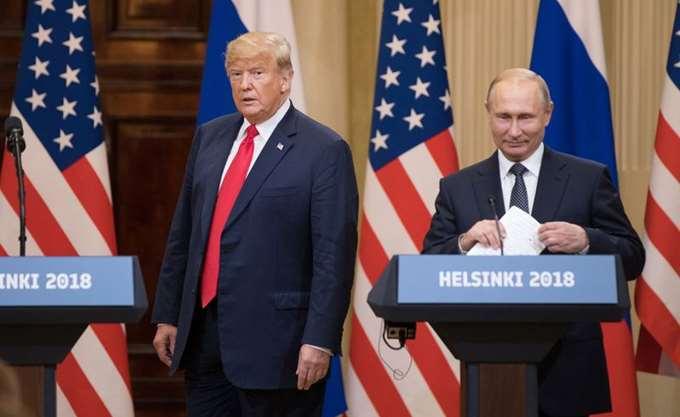 """""""Καθόλου χαρούμενος"""" ο Τραμπ με τη νέα ένταση μεταξύ Ρωσίας και Ουκρανίας"""