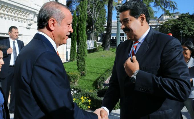 Επανέλαβε τη στήριξη του στον Μαδούρο ο Ερντογάν, παρά τη θέση των ΗΠΑ