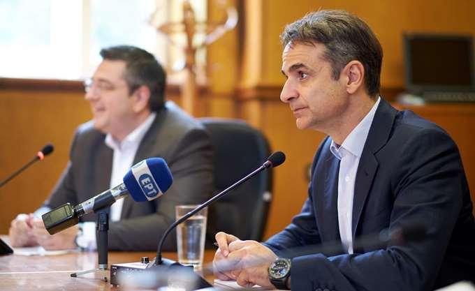Κυρ. Μητσοτάκης: Θα στηρίξουμε τις προσπάθειες της αυτοδιοίκησης για απόσυρση του ν/σ