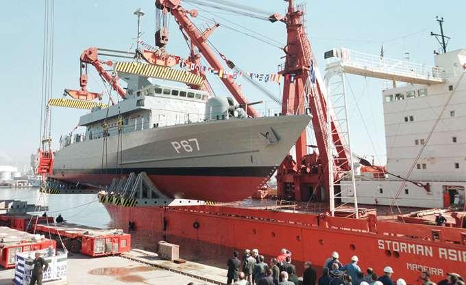 Ημιβυθίστηκε τμήμα  πλωτής δεξαμενής στα ναυπηγεία Ελευσίνας