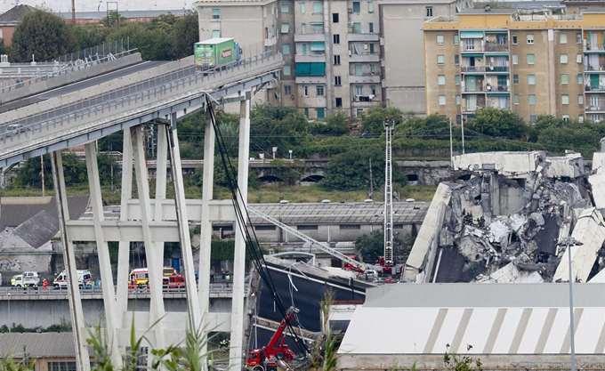 Ιταλία: Έως 20 αγνοούμενοι από την κατάρρευση της γέφυρας - Στους 38 οι νεκροί