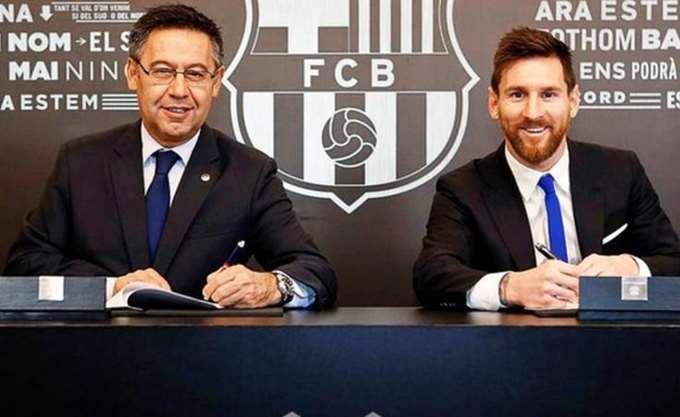 Έως το 2021 στην Barcelona o Messi με ρήτρα συμβολαίου 700 εκατ. ευρώ