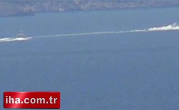 Ένταση στα Ίμια το πρωί, σύμφωνα με τουρκικά ΜΜΕ
