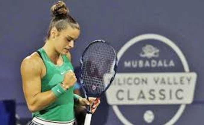 Στον τελικό του τουρνουά τένις του Σαν Χοσέ η Μ. Σάκκαρη