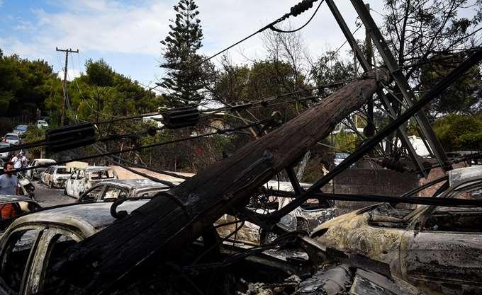 Πυρκαγιά Μάτι: Στους 88 οι νεκροί - Κατέληξε γυναίκα εγκαυματίας