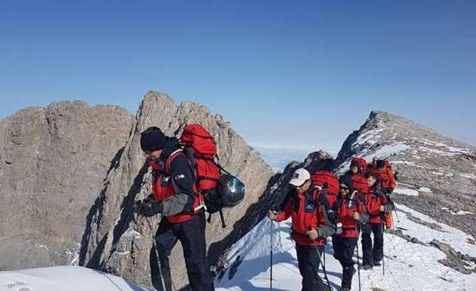 Αίσιο τέλος στην περιπέτεια του Γάλλου ορειβάτη στον Όλυμπο
