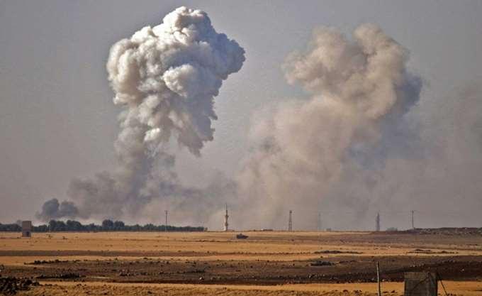 """Συρία: """"16 άμαχοι, μεταξύ των οποίων επτά παιδιά, σκοτώθηκαν σε αεροπορικές επιδρομές"""""""