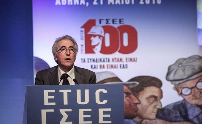 Να επανέλθει ο κατώτατος μισθός στα 751 ευρώ, ζητάει ο πρόεδρος της ΓΣΕΕ