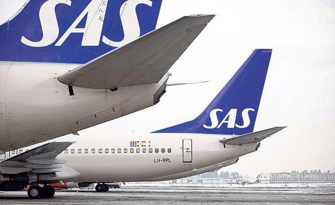 SAS: Αυξήθηκαν 0,7% τα καθαρά κέρδη τριμήνου