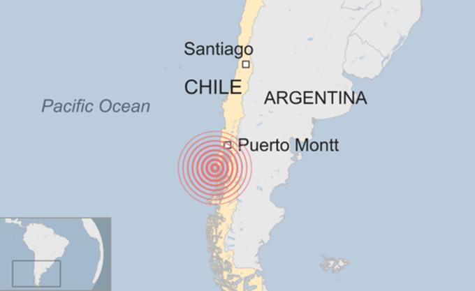 Χιλή: Σεισμική δόνηση 6,2 βαθμών στον βορρά, δεν έχουν αναφερθεί θύματα ή ζημιές