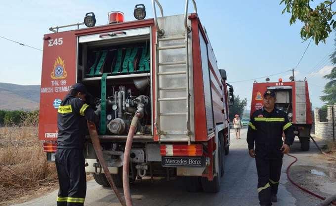 Ζάκυνθος: Πυρκαγιά στο χωριό Αργάσι