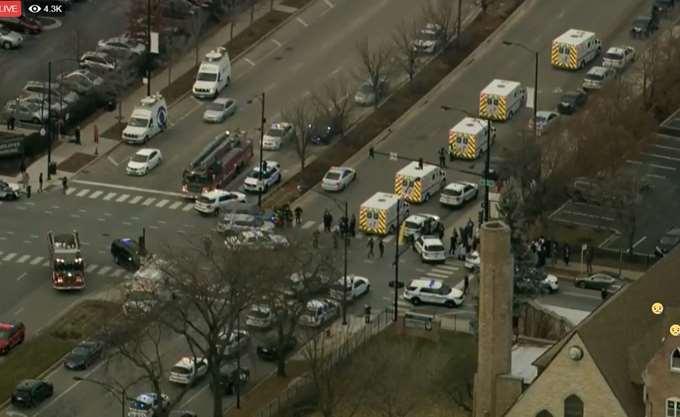 Τραυματίες από περιστατικό με ένοπλο σε νοσοκομείο του Σικάγο