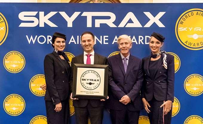 Η Aegean, για όγδοη χρονιά, Καλύτερη Περιφερειακή Εταιρεία της Ευρώπης