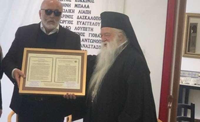 Ο Κουρουμπλής προκαλεί τον ΣΥΡΙΖΑ: Καλά έκανα και συναντήθηκα με τον Αμβρόσιο