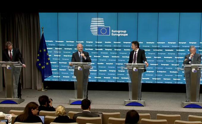 "Eurogroup: Συμφωνία για 10,3 δισ. αλλά με δόσεις και ""αγκάθια"", το 2018 πάει το χρέος"