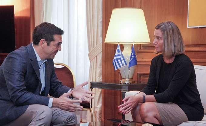 Επιστολή της Φ. Μογκερίνι στο Ευρωκοινοβούλιο για τους δύο Έλληνες στρατιωτικούς