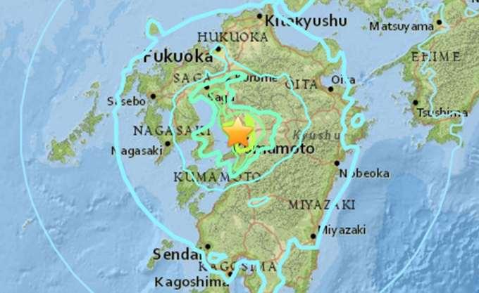 Ισχυρός σεισμός στην Ιαπωνία - 3 νεκροί