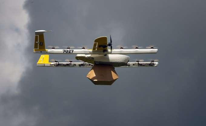 """ΗΠΑ: Η εταιρεία """"ντελίβερι"""" με drones Wing πήρε άδεια λειτουργίας"""