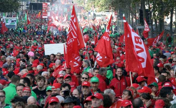 Βρυξέλλες: Επεισόδια σε διαδήλωση δημοσίων υπαλλήλων