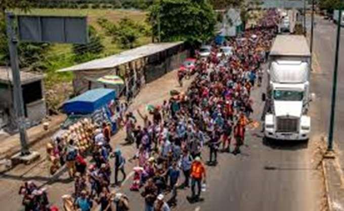 Ελ Σαλβαδόρ: Ένα νέο καραβάνι μεταναστών αναχώρησε για τις ΗΠΑ