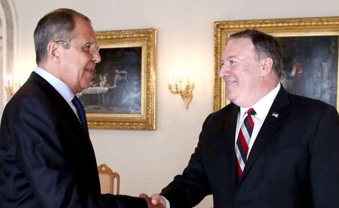 """Πούτιν υποδέχεται Πομπέο προς """"σταθεροποίηση"""" των σχέσεων Ρωσίας - ΗΠΑ"""