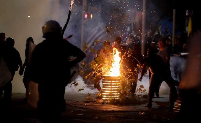 Θεσσαλονίκη: Οκτώ συλλήψεις για τα χθεσινά επεισόδια στο κέντρο της πόλης