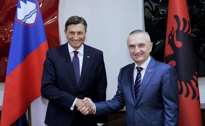 Η Σλοβενία στηρίζει την ευρωπαϊκή πορεία της Αλβανίας, σύμφωνα με τον πρόεδρό της