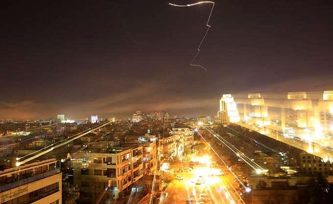 Πυραυλικό πλήγμα από πλευράς Ισραήλ στη Δαμασκό