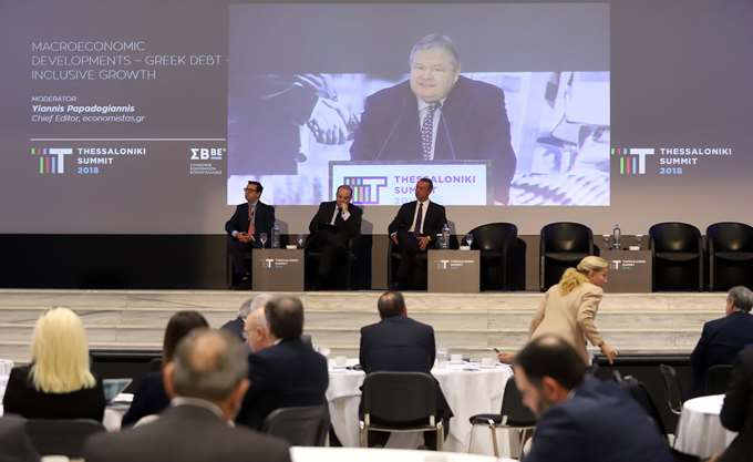 Thessaloniki Summit: Δεν έχουμε εισέλθει στην κανονικότητα, τόνισαν Χρ. Σταϊκούρας - Ευ. Βενιζέλος