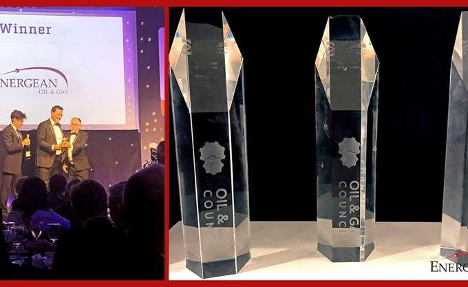 Energean: Κατέκτησε τρία βραβεία από το Oil & Gas Council