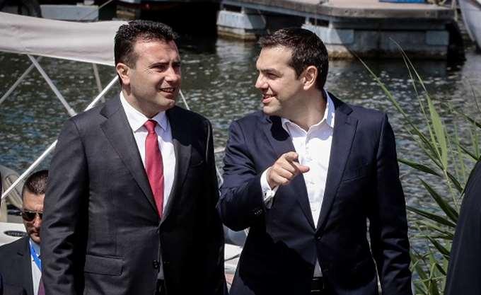 Συνάντηση βουλευτών του ΣΥΡΙΖΑ από νομούς της Μακεδονίας με βουλευτές από την πΓΔΜ