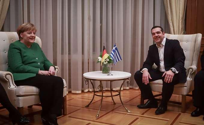 Μέρκελ: Είμαι ευγνώμων στον Τσίπρα για τη Συμφωνία των Πρεσπών