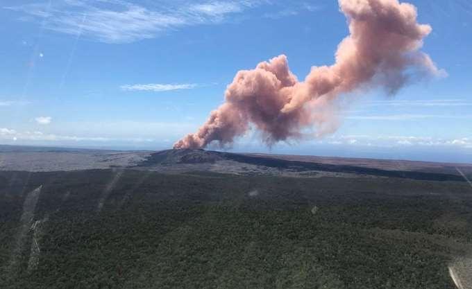 Χαβάη: Εξερράγη το ηφαίστειο Κιλαουέα