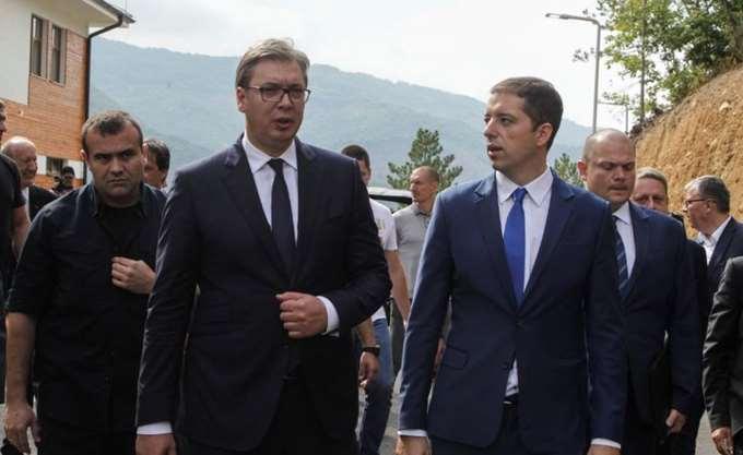 Κόσοβο: Αλβανοί απέκλεισαν την είσοδο χωριού που ήθελε να επισκεφθεί ο Σέρβος πρόεδρος Βούτσιτς