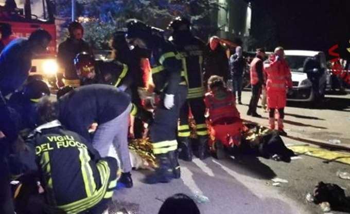 Ιταλία: Έξι νεκροί, δεκάδες τραυματίες σε κλαμπ κοντά στην Ανκόνα
