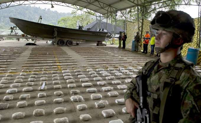 Η Κολομβία παραμένει στην πρώτη θέση στην παραγωγή κοκαΐνης στον πλανήτη