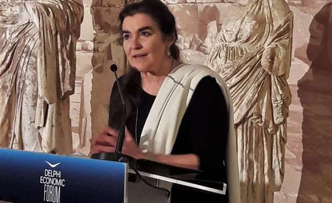 Πρόεδρος στοΚέντροΠολιτισμού Ίδρυμα Σταύρος Νιάρχος, η Λυδία Κονιόρδου