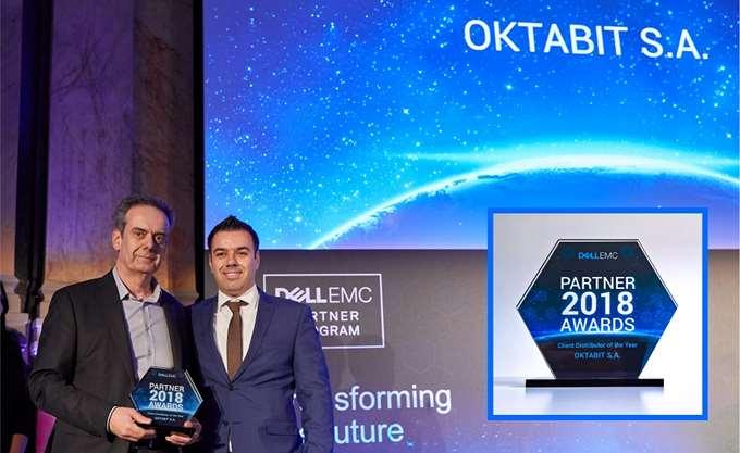 "Dell EMC Partner Awards: ""Client Distributor of the Year"" για το 2017 η Οktabit"