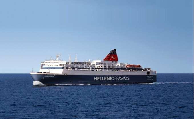 """Αποκαταστάθηκε η μηχανική βλάβη στο πλοίο """"Νήσος Σάμος"""""""