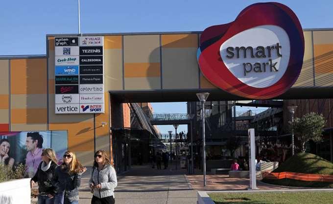"""""""Καλπάζει"""" το εμπορικό κέντρο Smart Park"""