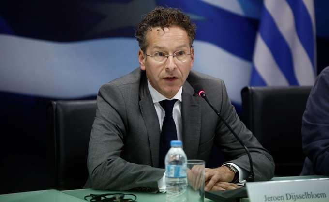 Ντάισελμπλουμ: Απαραίτητα τα μνημόνια στην Ελλάδα για την αξιοπιστία της Ευρωζώνης