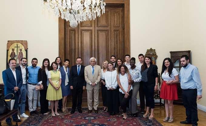 Συνάντηση του Προέδρου της Ελληνικής Δημοκρατίας με το Ίδρυμα Vodafone